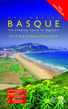 Colloquial Basque: A Complete Language Course (Paperback) book cover