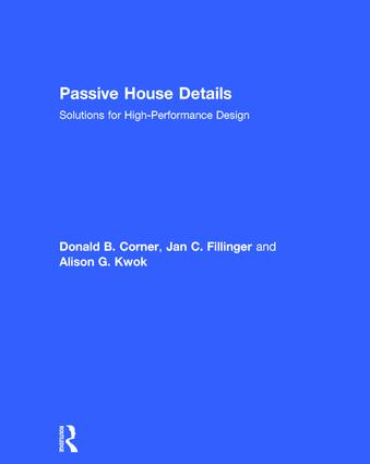 Passive House Details: Solutions for High-Performance Design (Hardback) book cover