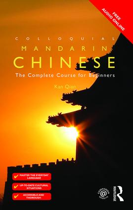 Colloquial Chinese: The Complete Course for Beginners book cover