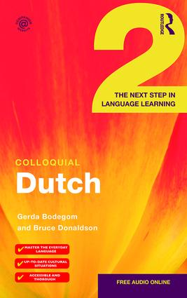 Colloquial Dutch 2: The Next Step in Language Learning book cover