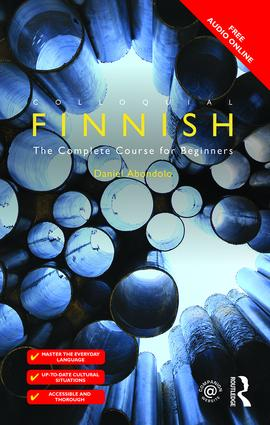 Colloquial Finnish: The Complete Course for Beginners, 2nd Edition (Paperback) book cover