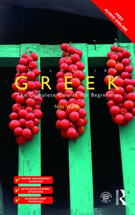 Colloquial Greek book cover