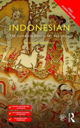 Colloquial Indonesian: The Complete Course for Beginners book cover