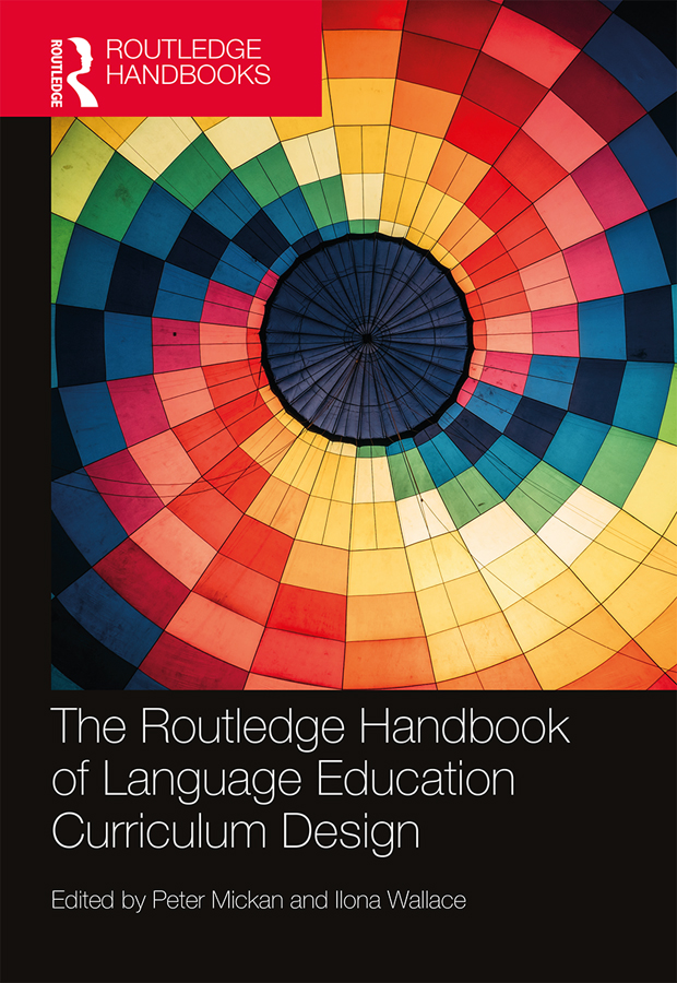 The Routledge Handbook of Language Education Curriculum Design book cover