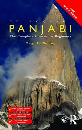 Colloquial Panjabi: The Complete Course for Beginners book cover