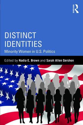 Distinct Identities: Minority Women in U.S. Politics (Paperback) book cover