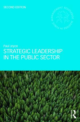 Strategic Leadership in the Public Sector book cover