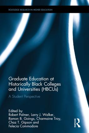 Graduate Education at Historically Black Colleges and Universities (HBCUs): A Student Perspective book cover