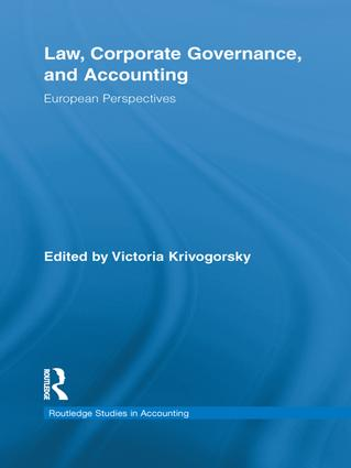 Law, Corporate Governance and Accounting: European Perspectives book cover