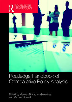 Routledge Handbook of Comparative Policy Analysis (Hardback) book cover