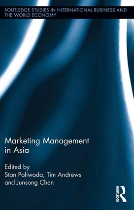 Marketing Management in Asia book cover