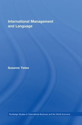 International Management and Language: 1st Edition (Paperback) book cover