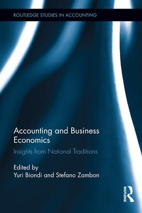 Accounting and Business Economics: Insights from National Traditions book cover