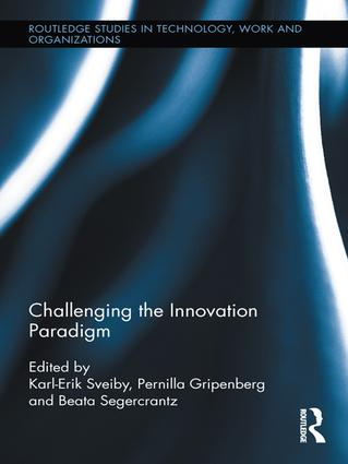 Challenging the Innovation Paradigm book cover