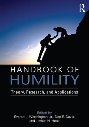Handbook of Humility (Paperback) book cover