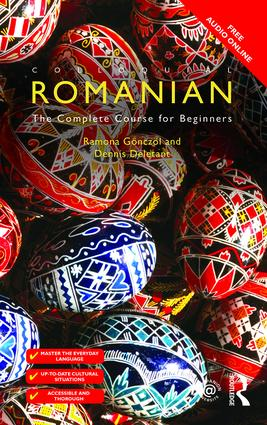 Colloquial Romanian: The Complete Course for Beginners book cover