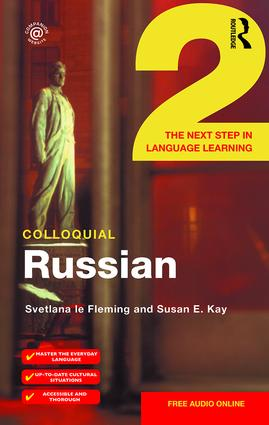 Colloquial Russian 2: The Next Step in Language Learning book cover