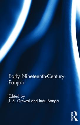 Early Nineteenth-Century Panjab book cover