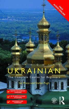 Colloquial Ukrainian book cover