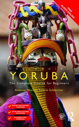 Colloquial Yoruba: The Complete Course for Beginners book cover