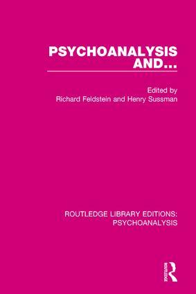 Psychoanalysis and ...