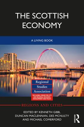 The Scottish Economy: A Living Book book cover