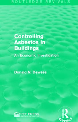 Controlling Asbestos in Buildings: An Economic Investigation book cover