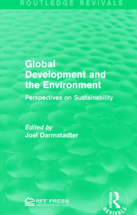 Global Development and the Environment: Perspectives on Sustainability, 1st Edition (Hardback) book cover