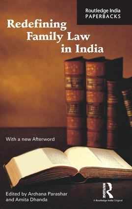 Redefining Family Law in India: 1st Edition (Paperback) book cover