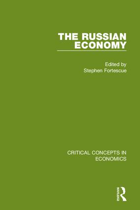 The Russian Economy book cover