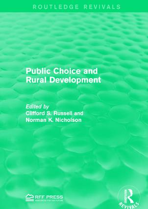 Public Choice and Rural Development: 1st Edition (Paperback) book cover