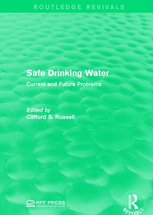 Safe Drinking Water: Current and Future Problems book cover