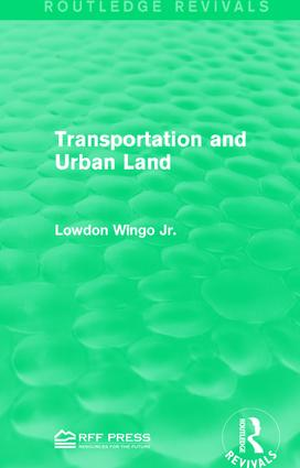 Transportation and Urban Land book cover