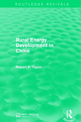 Rural Energy Development in China