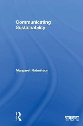 Communicating Sustainability book cover