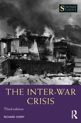 The Inter-War Crisis book cover