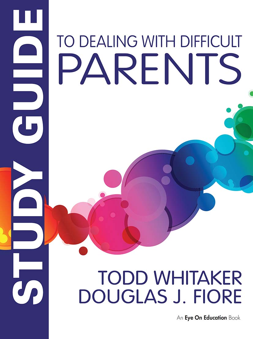 Study Guide to Dealing with Difficult Parents book cover