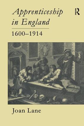 Apprenticeship In England, 1600-1914