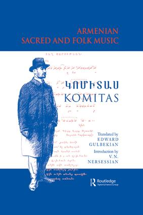 Armenian Sacred and Folk Music: 1st Edition (Paperback) book cover