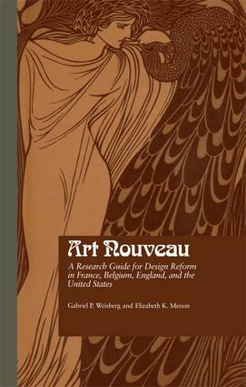 Art Nouveau: A Research Guide for Design Reform in France, Belgium, England, and the United States, 1st Edition (Paperback) book cover