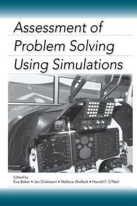 Assessment of Problem Solving Using Simulations: 1st Edition (Paperback) book cover
