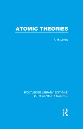 Atomic Theories (e-Book) book cover