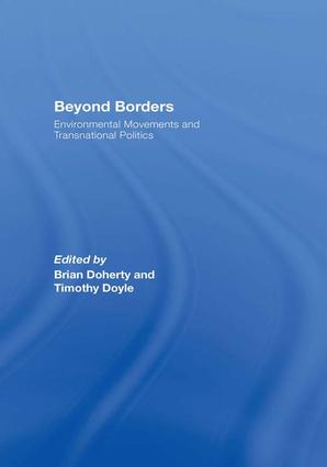 Beyond Borders: Environmental Movements and Transnational Politics book cover