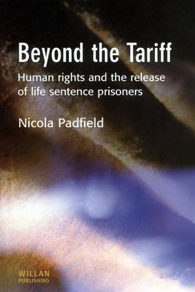 Life sentences: in custody and approaching release