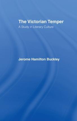 Buckley: Victorian Temper