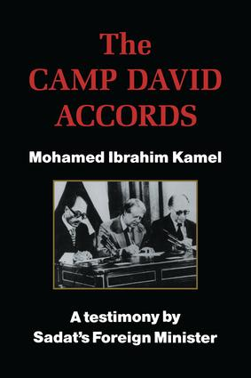 The Camp David Accords: 1st Edition (Paperback) book cover