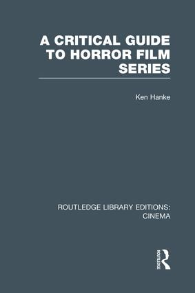 A Critical Guide to Horror Film Series book cover