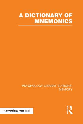 Mnemonic Dictionary For Gre Pdf
