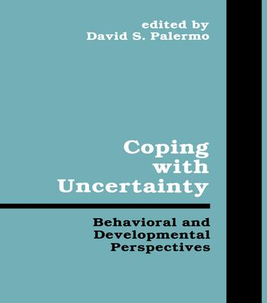 Coping With Uncertainty: Behavioral and Developmental Perspectives book cover