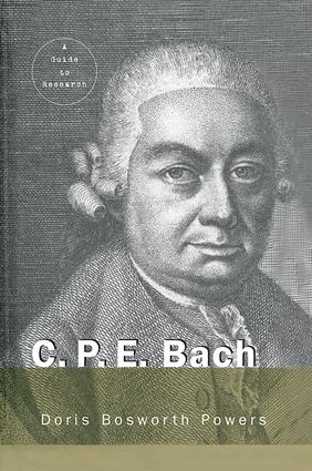 C.P.E. Bach: A Guide to Research book cover
